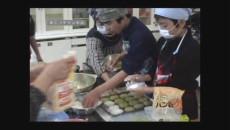 小値賀小学校で郷土料理